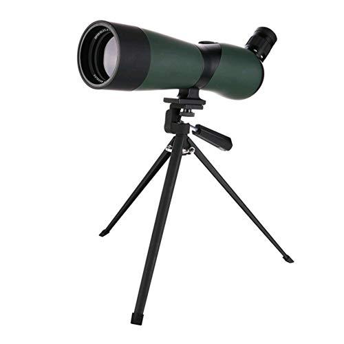 SHIJIAN Spotting Scope 20-60 Aro Impermeable para Prisma de porro para observación de Aves. Tiro al Blanco. Actividades de Tiro con Arco en el Aire Libre (con trípode y Adaptador Digiscoping) Obtenga
