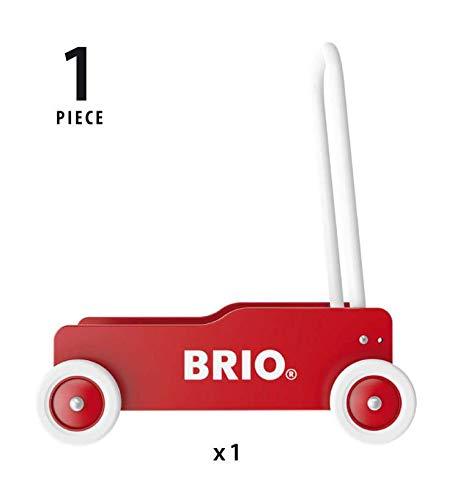 Brio 31350 – Lauflernwagen rot-gelb - 3