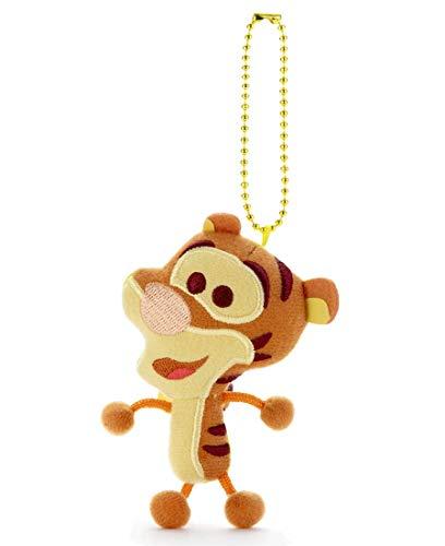 ディズニー キャラクタートイカンパニー クリーナー付 ボールチェーンマスコット ティガー 高さ約 9cm
