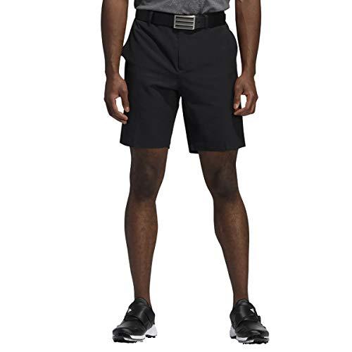 adidas Pantalones cortos de golf para hombre Ultimate365 Core 8.5 pulgadas, color negro, cintura de 36 pulgadas