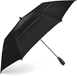 cheap Windproof Travel Umbrella-Compact folding umbrella with double ventilation and automatic opening and closing …