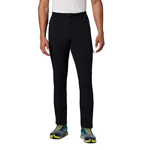 Columbia Maxtrail Regular 999 Pantalónes de Senderismo, Hombre, Negro (Black), L/R