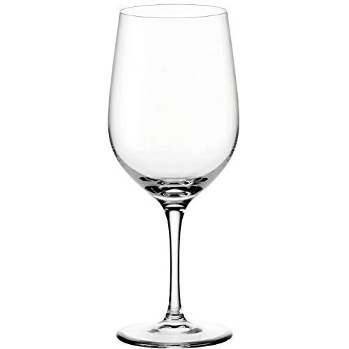Leonardo Ciao+ Rotwein-Glas, Rotwein-Kelch mit gezogenem Stiel, spülmaschinenfeste Wein-Gläser, 6er Set, 610 ml, 061449