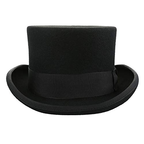 KQMY Fun Party Hats for Adults Dress up President Hats Lincoln Hats Adult Hats Unisex Clothing Unisex Party Hats Black