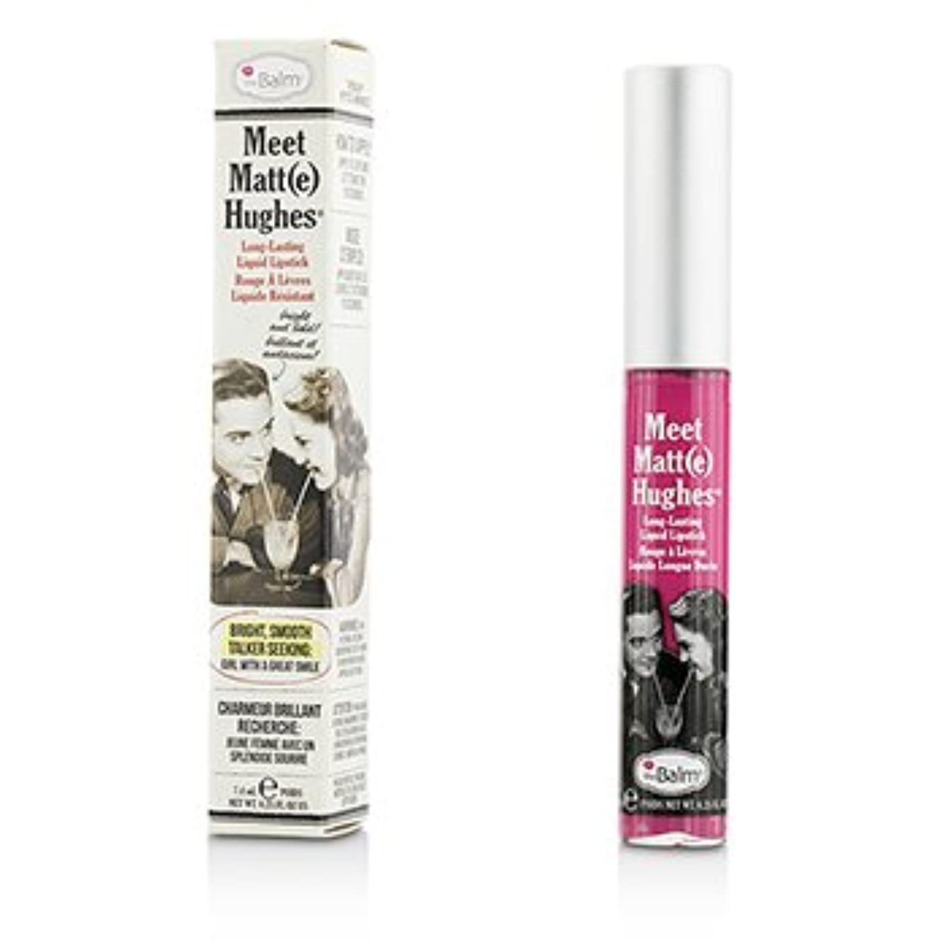 火薬城手綱[TheBalm] Meet Matte Hughes Long Lasting Liquid Lipstick - Chivalrous 7.4ml/0.25oz