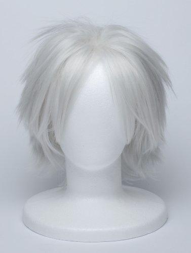 『【コスプレ】 ウィッグ NARUTO はたけカカシ 風 白髪 銀髪 衣装 道具 小物 ナルト ウィッグネット カカシ』の1枚目の画像