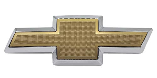 Front Grille Bowtie Emblem Compatible with Chevrolet C/K Suburban Express Tahoe 1994-2002 (Gold)