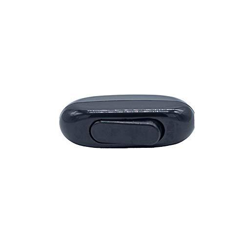 Interruptor conmutador tipo pera 250 V color negro