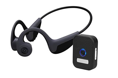 骨伝導 集音器 ヘッドホン テレビ用 Bluetooth ワイヤレス 低延遅 イヤホントランスミッター レシーバー 付き 耳が疲れない マイク内蔵 ヘッドセット 耳掛け式 自動ペアリング 開放型 スポーツ イヤホン 超軽量 ハンズフリー 一年間保証付き