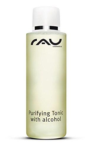 RAU Purifying Tonic with Alcohol (1 x 200 ml) - Entzündungshemmender Toner für Unreine und Fettige Haut