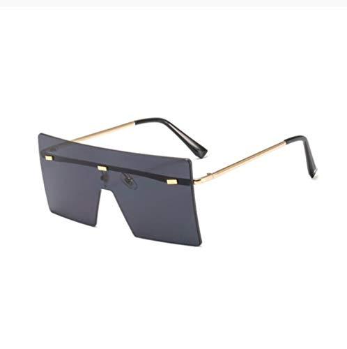 ZZZXX Gafas De Sol Unisex Gafas Retro Extragrandes Sin Montura Para Mujer Golf De Pesca Ciclismo El Golf Conducción Pescar Alpinismo Deportes Al Aire Libre Gafas De Sol