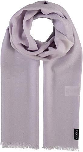 FRAAS Woll-Schal für Damen & Herren - Maße 50 x 180 cm - Damen Schal in vielen verschiedenen Farben - Perfekt für Frühling & Sommer Lavendel