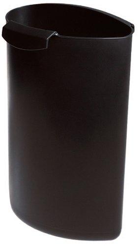 HAN 1837-13, Abfalleinsatz MOON, Schick und Praktisch, Für die perfekte Abfalltrennung, 6 Liter, Schwarz as per variation ASIN