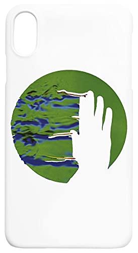 británico Música Caja del Teléfono Compatible con iPhone XS MAX Cubierta de Plástico Duro Hard Plastic Cover