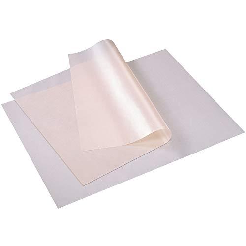 Westmark 2 Dauerbackfolien, Mit Antihaft-Effekt, Wiederverwendbar, Hitzebeständig bis 260°C/500°F, Beschichtetes Gewebe, Beige, 30192260