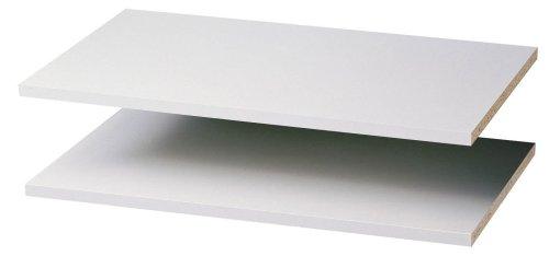 Fácil de pista estantes, 2-Pack