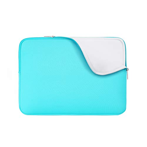 "RAINYEAR 11-11.6 Inch Laptop Sleeve Case Soft Lining Carrying Bag Padded Zipper Cover Compatible with 11.6"" MacBook Air for 11"" Notebook Computer/Ultrabook/Tablet/Chromebook(Blue,Upgraded Version)"