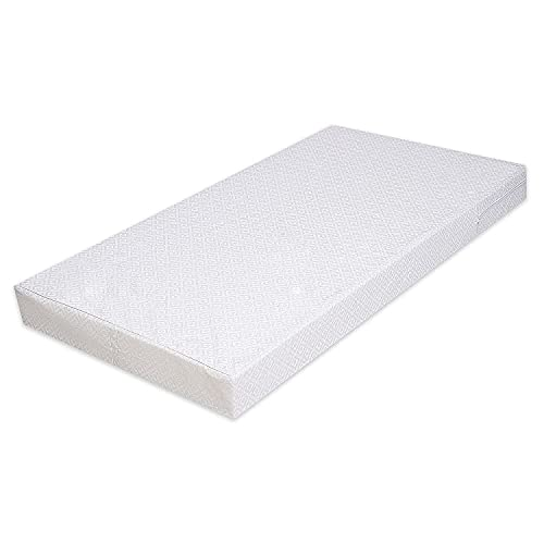 Best For Kids COMFORT Matratze Maxi - 70 x 140 x 10 cm - nachhaltig - lässt sich einrollen - auf Schadstoffe geprüft - Qualitätssiegel - TÜV zertifiziert - 100% Polycotton - waschbarer Bezug