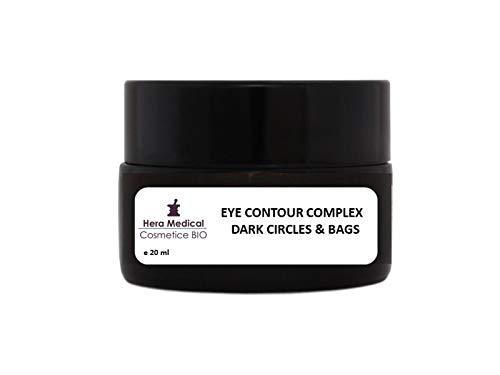 COMPLEJO CONTORNO DE OJOS | CÍRCULOS Y BOLSAS OSCURAS - Crema emoliente ligera para el área del contorno de ojos, especialmente formulada para combatir las ojeras - 77.5% orgánico - 20 ml