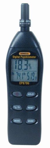 General Tools EP8706 Digital Psychrometer -