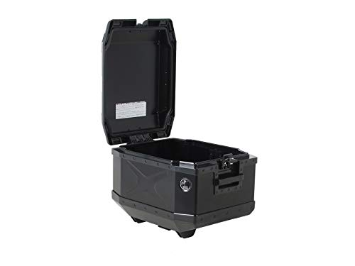 H&B Motorradtopcase Xplorer Aluminium Topcase 45 Liter schwarz, Unisex, Tourer, Ganzjährig