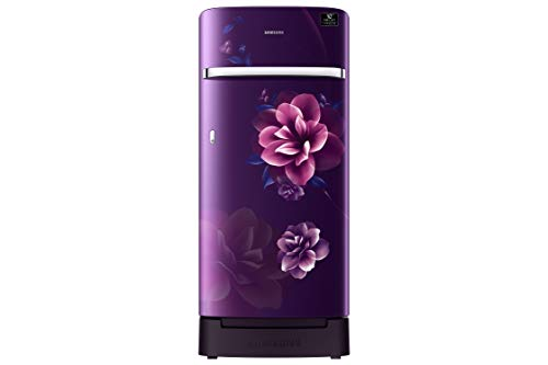 Samsung 198 L 3 Star Inverter Direct-Cool Single Door Refrigerator (RR21T2H2YCR/HL, Camellia Blue)