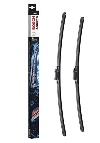 Bosch Balais d'Essuie–Glace Plats Aerotwin A215S, Longueur : 650mm/600mm – 1 Paire de Balais Avant