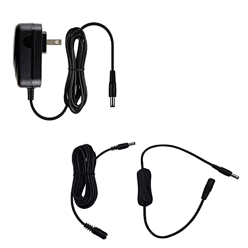 MyVolts 9V Power Supply Adaptor Replacement for M-Audio Axiom 49 MIDI Controller - US Plug - Premium