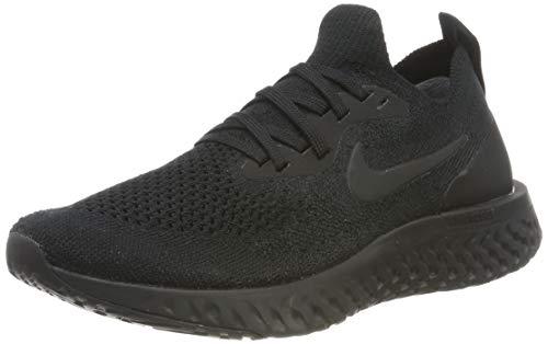 Nike Wmns Epic React Flyknit, Zapatillas de Running para Mujer, Negro (Black/Black/Black 003), 36.5...