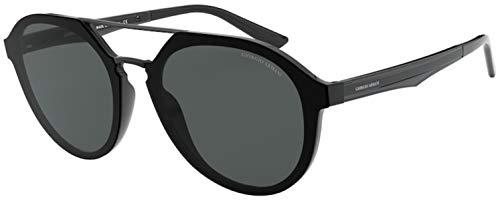 Giorgio Armani sonnenbrille AR8131 500187 Schwarz grau größe 52 mm Herren