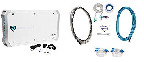 Rockville RXM-S6 Marine/Boat 2600 Watt 6 Channel Amplifier+PA Microphone+Amp Kit
