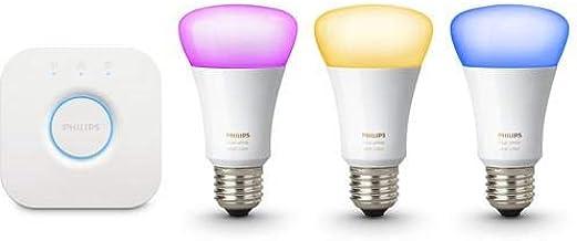 مجموعة فيليبس هوى الأبيض واللون أجواء الإضاءة اللاسلكية E27
