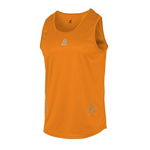 Act Seven Herren cooldry-dryntex Tank-top, Orange (Orange), Gr. XXS