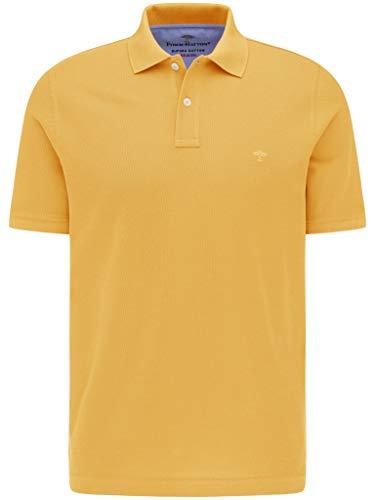 FYNCH-HATTON Herren Poloshirt Kurzarm - aus Premium Supima Baumwolle - Piqué Polo Short Sleeve mit Polokragen Basic in Unifarben
