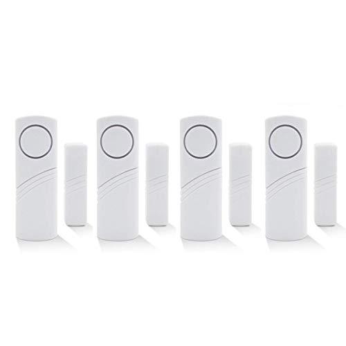 Inalámbrico de alarma de seguridad para el hogar DIY Kit - antirrobo de alarma magnético Sensor - ventana cristal vibración alarma antirrobo Seguridad para casas, coches, caravanas, cobertizos (4)