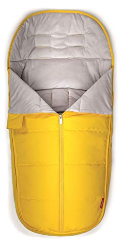 Fantastic Deal! Diono All Weather Footmuff to Protect Your Baby in Car Seats & Strollers, Yellow Sul...