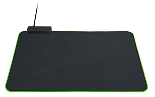 Razer Goliathus Chroma Gaming Mousepad: Customizable Chroma RGB Lighting - Soft, Cloth Material - Balanced Control & Speed - Non-Slip Rubber Base - Classic Black
