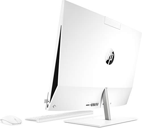 HP Intel Celeron J4025 - Ordenador Todo en uno (procesador Intel Celeron J4025, Memoria RAM de 8 GB, Disco Duro de 256 GB, Tarjeta gráfica Intel Windows 10, Unidad de DVD), Color Blanco