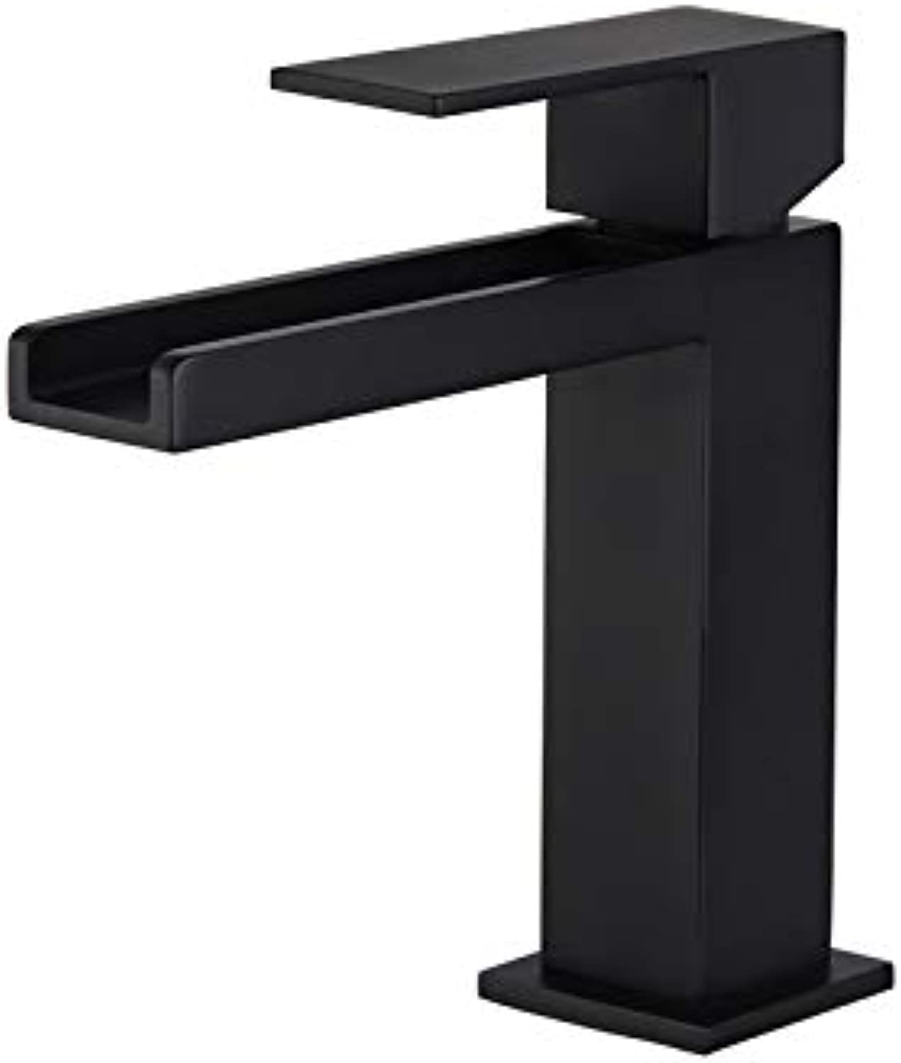 Copper Brushed gold Cold Faucet high Faucet golden Waterfall Black