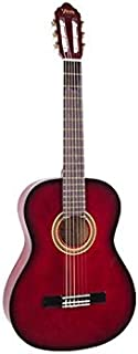 Valencia Classical Guitar 1/4 Size - Red Burst Color