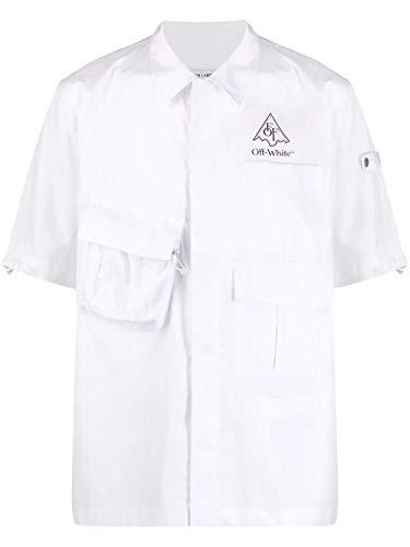 Luxury Fashion | Off-white Heren OMGA116S20H920170110 Wit Katoen Overhemden | Lente-zomer 20