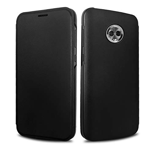 Preisvergleich Produktbild Motorola Flip-Cover für Moto G6,  Grau