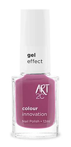 Art 2C - Esmalte de uñas efecto gel, 18 colores, 12ml, color: Geisha (GE24)