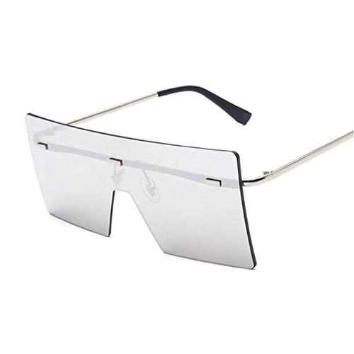 FRGH Gafas De Sol Vintage para Mujer, Gafas De Sol De Gran Tamaño para Mujer, Gafas Negras Grandes con Lentes Uv400, Gafas De Moda