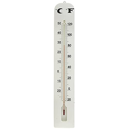 16  Large Indoor Outdoor Wall Thermometer Weather Hanging Analog Gauge Outdoor Thermometer Temperature Scanner Indoor Outdoor Thermometer Thermometer Outdoor Outdoor Temperature Thermometer