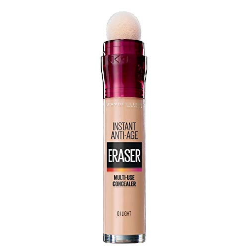Maybelline Eraser Eye Concealer, Light 6.8 ml - corrector de ojos