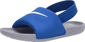Nike Kawa Slide TD Kids Hyper Cobalt/Wolf Grey/White BV1094-400  Size  8C