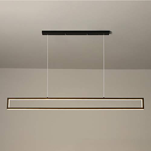 Lámpara Colgante Moderna LED, Lámpara De Araña De Restaurante De Estilo Nórdico Altura Ajustable para Sala De Estar, Dormitorio, Mesa De Comedor,Warm Light,120cm/47.24in