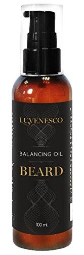 Luvenesco - Olio riequilibrante per la barba, 100 ml