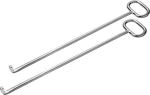 Kanaldeckelheber mit L-Haken 800mm, 1 Paar